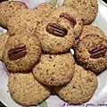 Petits gâteaux noix de pécan sirop d'érable