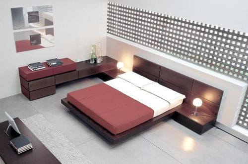 Chambre design gris pourpre photo de chambres design for Photo chambre design