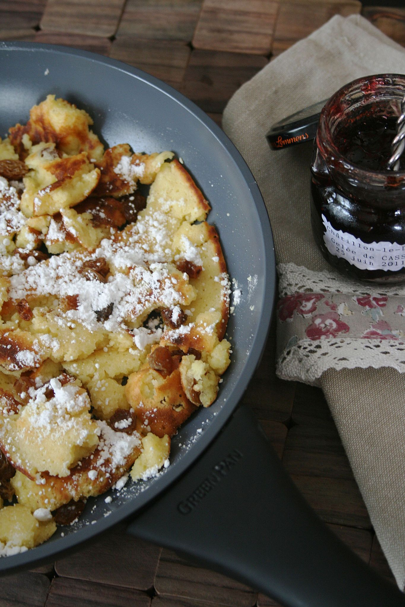 kaiserschmarrn cr pe autrichienne la po le greenpan blogs de cuisine. Black Bedroom Furniture Sets. Home Design Ideas