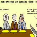 Nominations au conseil constitutionnel . . ou la préeminence des machos . .
