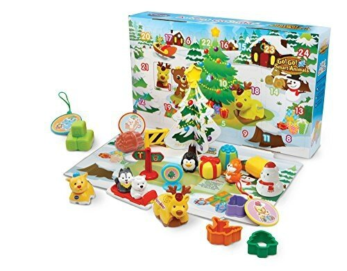 calendrier avent enfant - VTECH -toot toot animaux