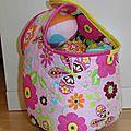 Baby fabric bowling set, jeux de quilles tissu