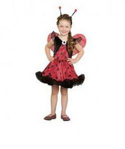 kids lovable ladybug costume