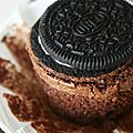 Oreo cup'brownie et
