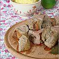 Filets mignons a la cachaça & purée de pommes de terre au maïs - lomos de cerdo a la cachaça & puré de papas al choclo