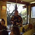 Repas à ChâteauNeuf duPape 2007