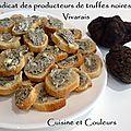 Atelier-dégustation & toasts à la truffe tuber melanosporum ( néovinum ruoms ardèche )