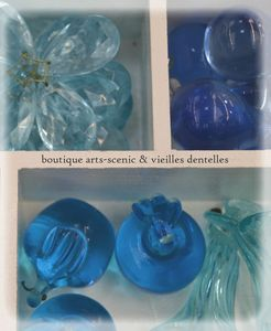 brocante pampilles verre (2)