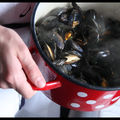 Moules pas trs marinires