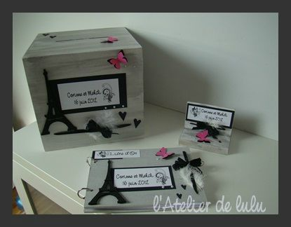 Decoration mariage paris chic l 39 atelier de lulu - Decoration mariage paris ...