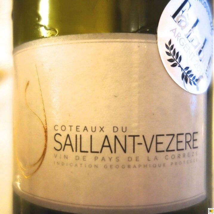 Côteaux du Saillant-Vezere 2012