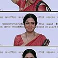 Bollywood nouveau film /new movie for sridevi : english vinglish / eros international