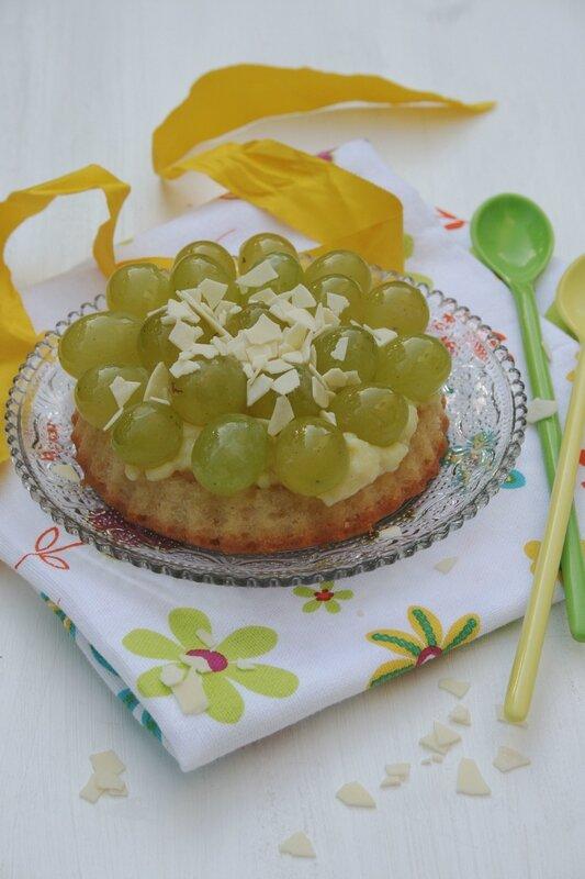 tartelettes renversées aux raisins - minouchka passion culinaire 2
