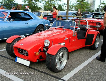 VM 77 roadster réplique lotus seven (Rencard Burger King aout 2012) 01