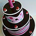 Gros gâteaux en carton