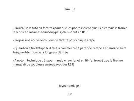 tuto raw 3d a
