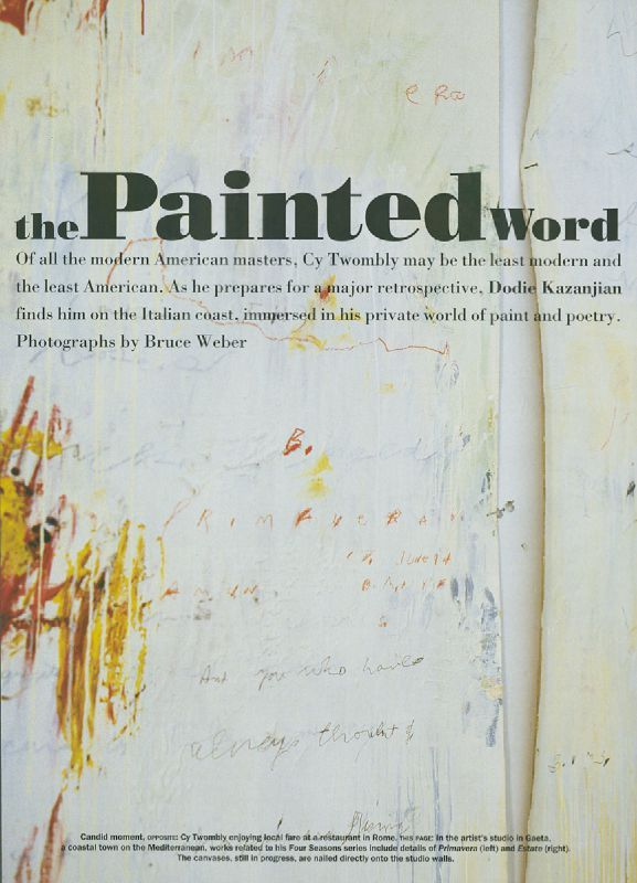 twombly weber painted word