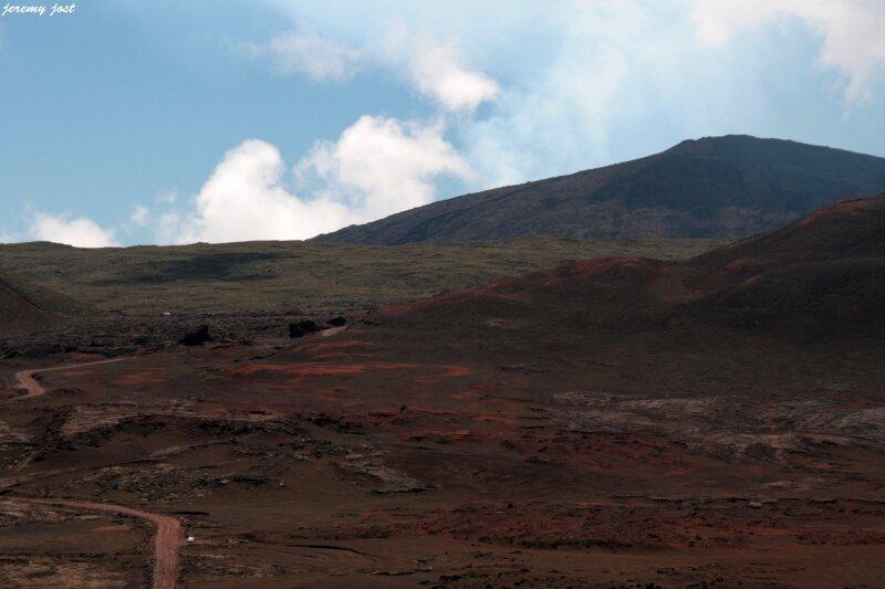 plaine des sables et volkan