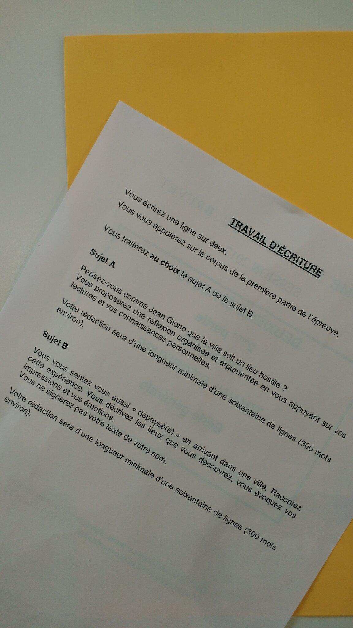 Poème d'après Les vraies Richesses de Giono, écrit par Laurent Dyrek le30juin jour brevet DNB 2017 Travail d'écriture rédaction