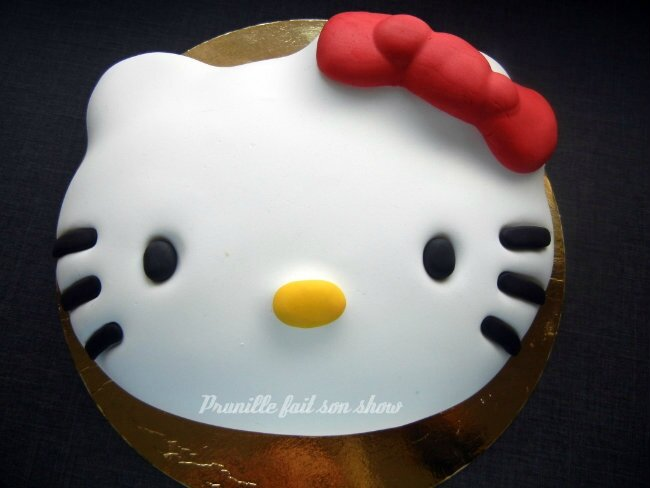 Tutoriel gateau Hello Kitty