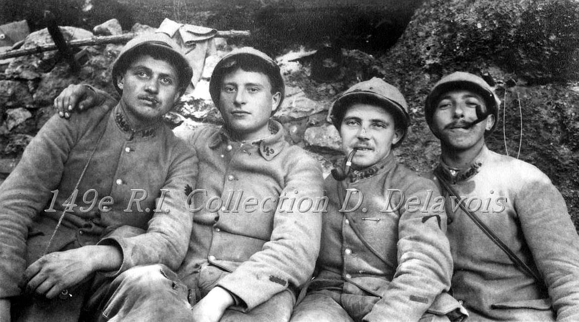 Quatre du 149e R.I. (Juin 1917)