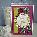 Kit cltm de juin - carte just for you