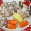 Pot-au-feu de queue de veau