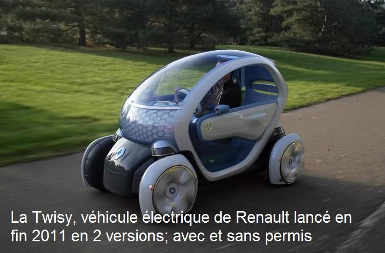 twizy renault se lance dans la voiture 100 lectrique. Black Bedroom Furniture Sets. Home Design Ideas