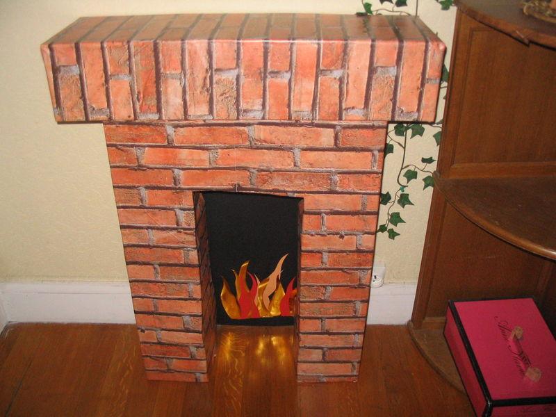 Extrem cheminée en carton - Mon blog XM66