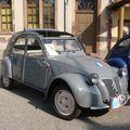 CITROËN 2CV découvrable avec malle arrière 1956 Lipsheim (1)