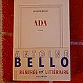 Ada - antoine bello