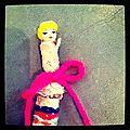 poupée en fiole