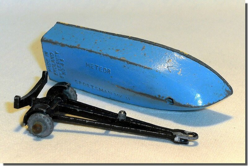48 A Lesney Matchbox Meteor Boat and Trailer A 4