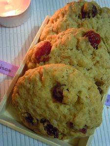 cookies flocons d'avoine cranberries (56)