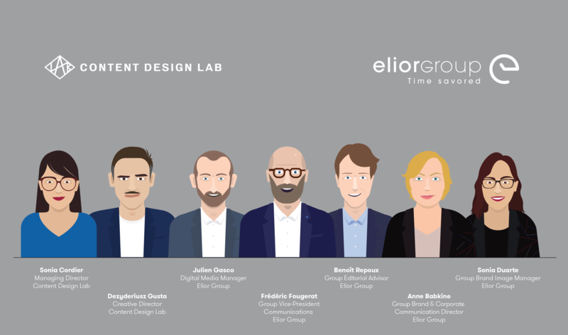 Dir Com Elior Group et Content Design Lab aux TOP COM