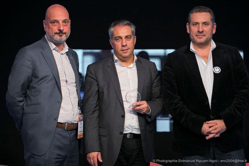 LaurentEydieu-PrsidentduSATIS - Gilles Sall - PDG AMP VISUAL TV - Stephan Faudeux - Prsident Mediakwest