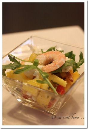 Salade d'inspiration créole