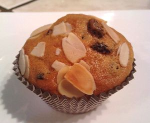 muffin raisins amandes