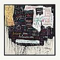 Jean-michel basquiat (1960-1988), museum security (broadway meltdown)