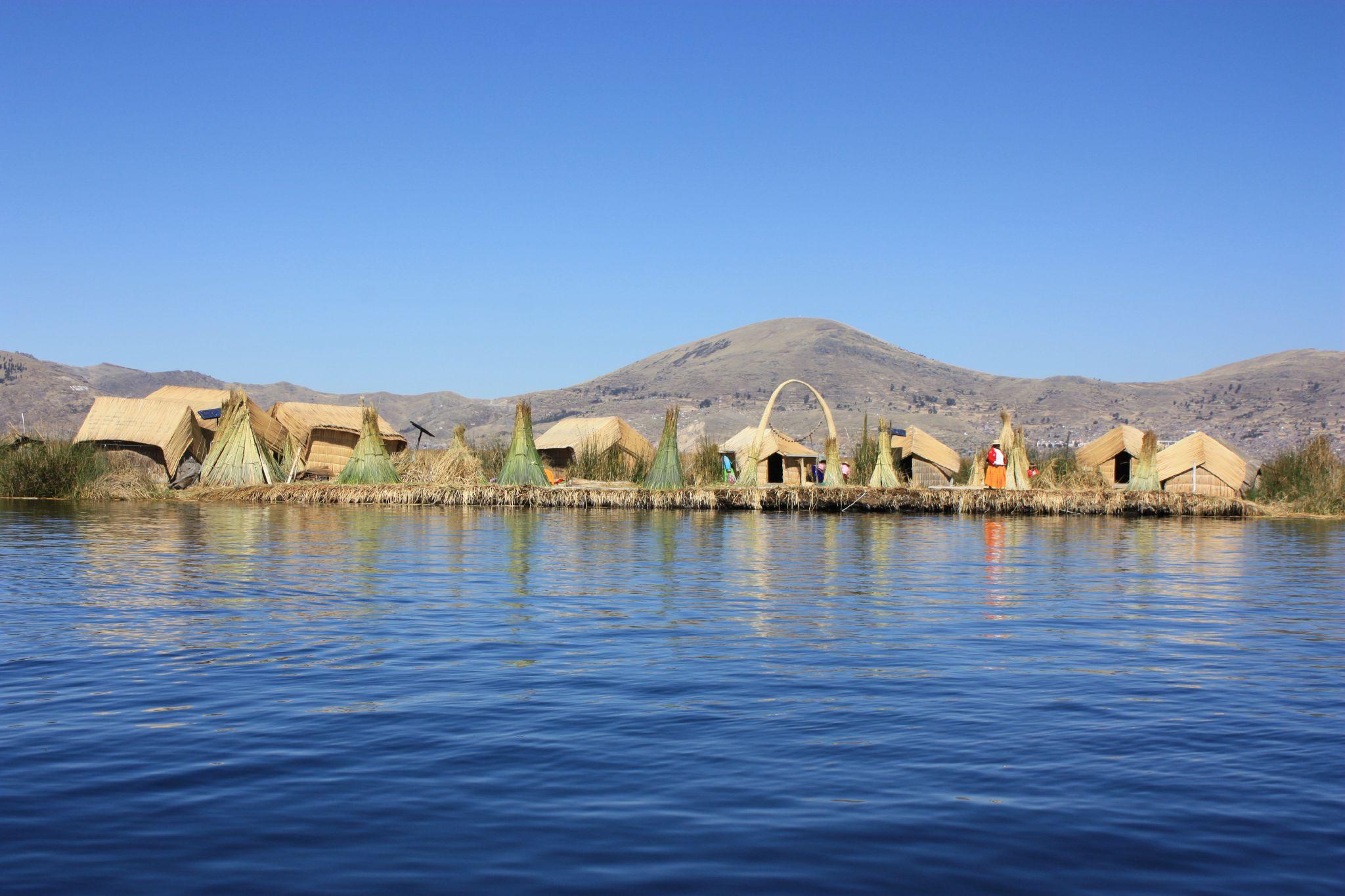 Lac titicaca les iles flottantes uros photo de p rou le voyage est la part du r ve