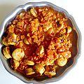Currywurst (oué si ce nom de plat existe t'inquiète)