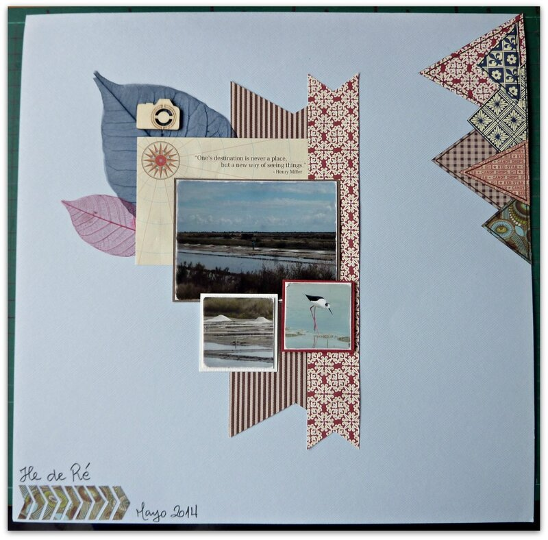 Scrapbooking Taller35 Layout 2