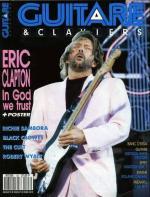 Magazine Guitare & claviers Eric Clapton