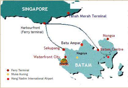 FerryMap(Batam)