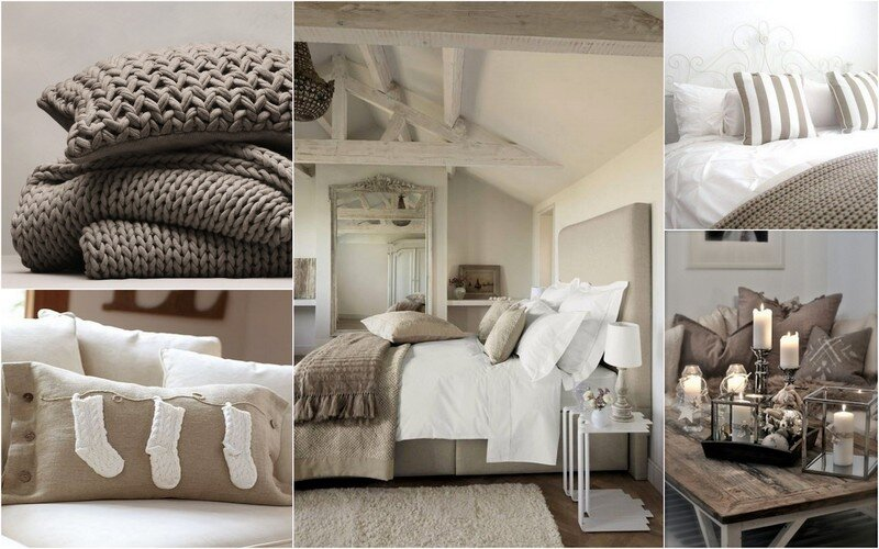 couleur taupe cocooning anemomili. Black Bedroom Furniture Sets. Home Design Ideas