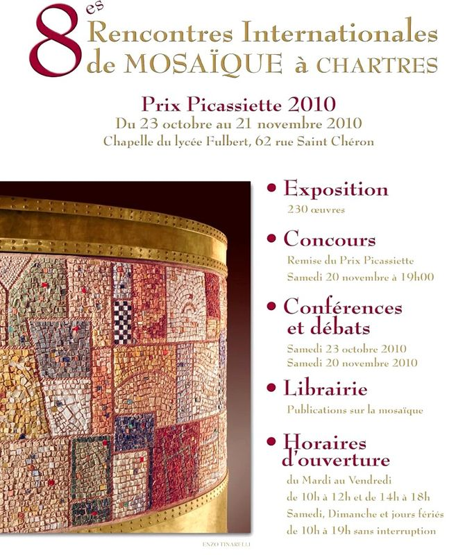 Rencontres internationales mosaiques chartres