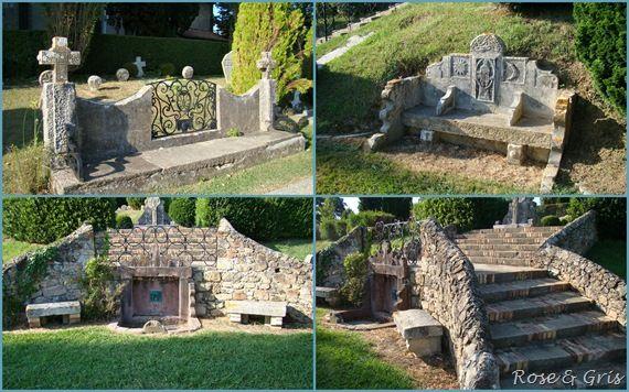 cimetière bancs et escaliers pf
