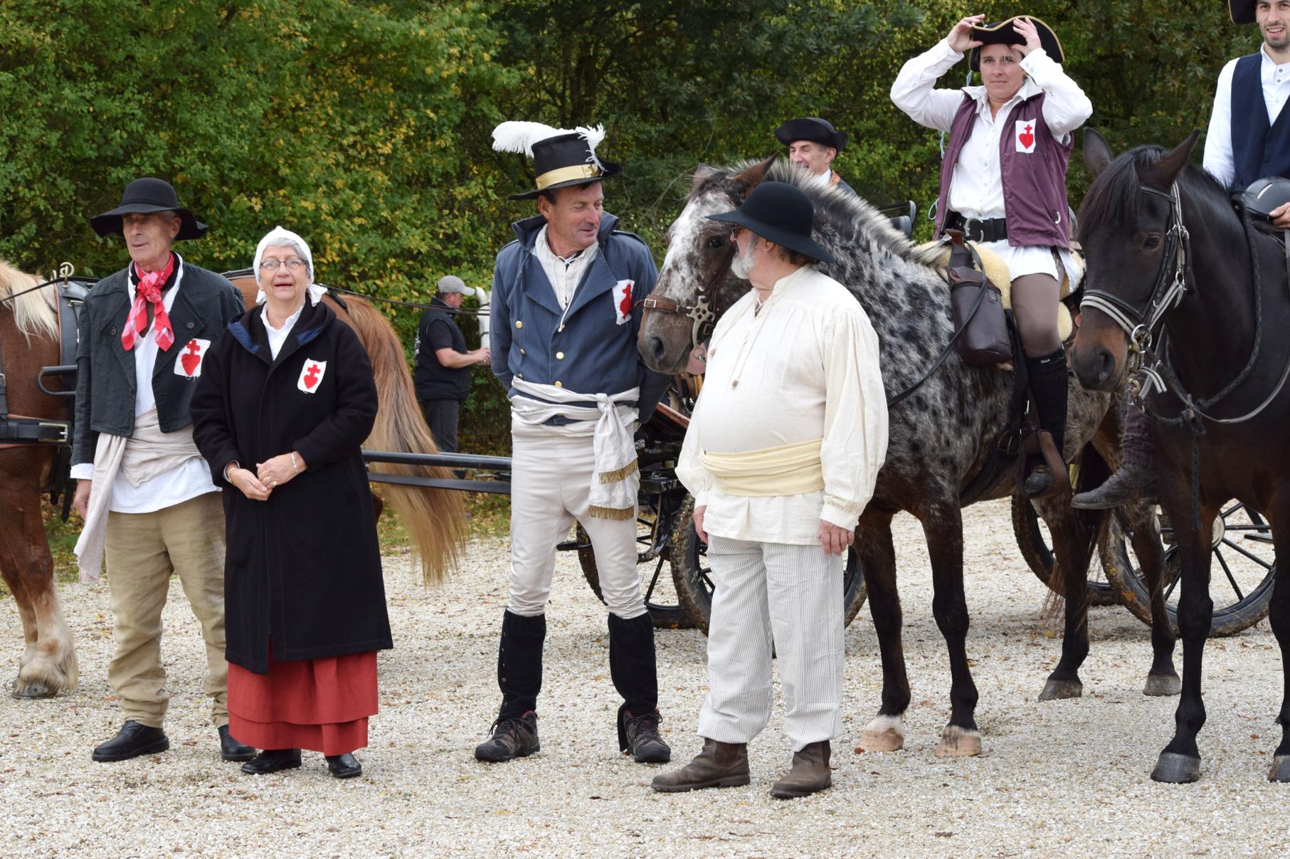 La Vendée historique à cheval ouvre son premier chemin