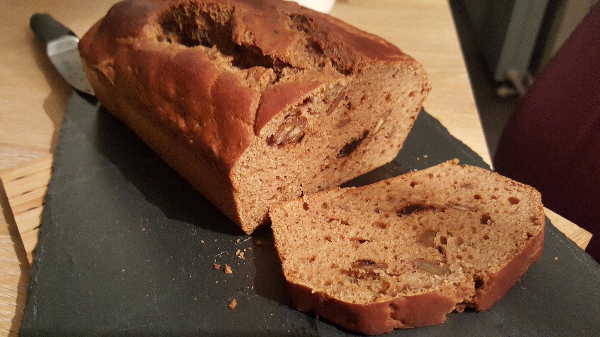 Le breadcake du matin... un petit déjeuner pas chagrin
