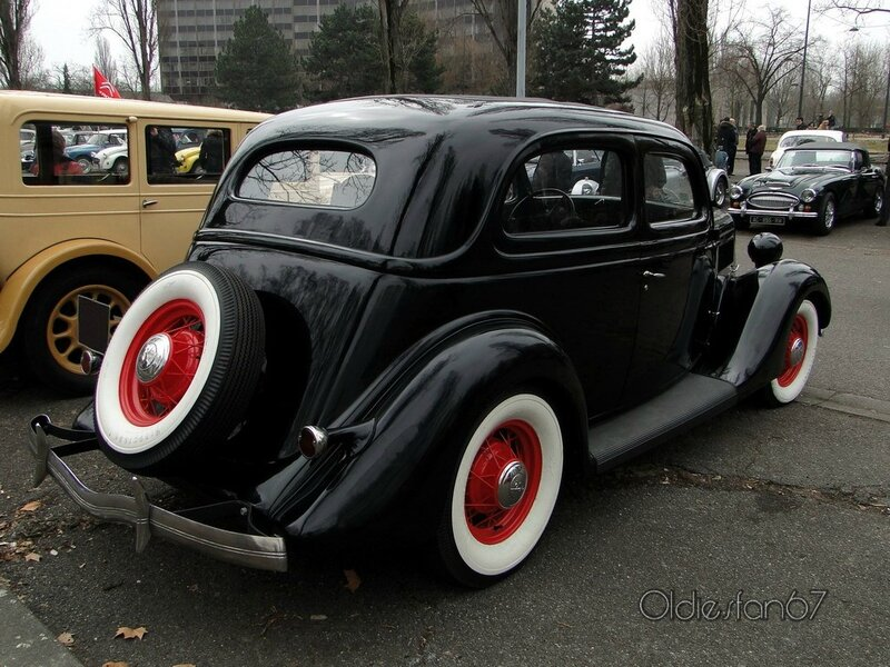 ford tudor sedan v8 flatheaad 1935 b